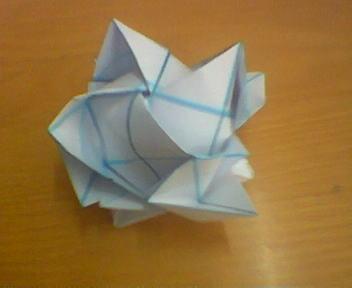 折纸玫瑰花,折纸玫瑰视频,折纸玫瑰图解,折纸玫瑰教程,如何简单