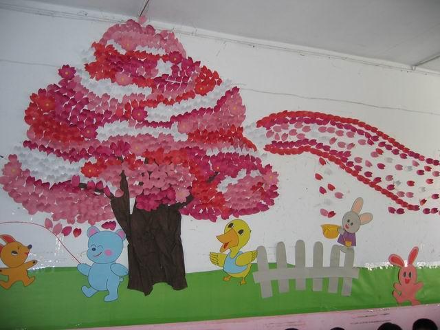 幼儿园环境布置图片,幼儿园春天教室环境布置,幼儿园小班大